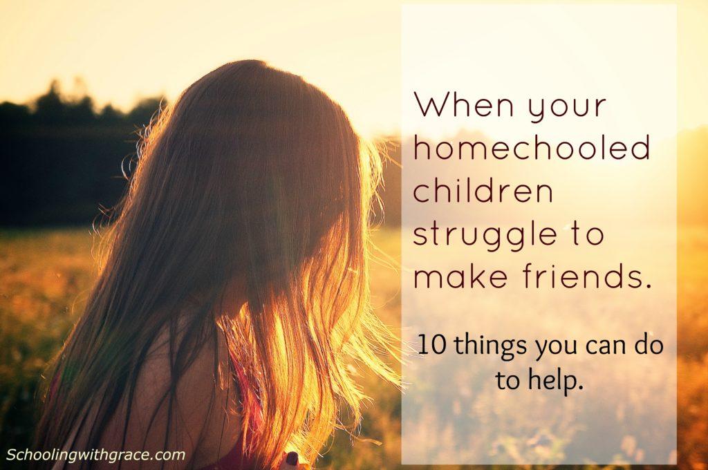 friends, friendship, homeschooling