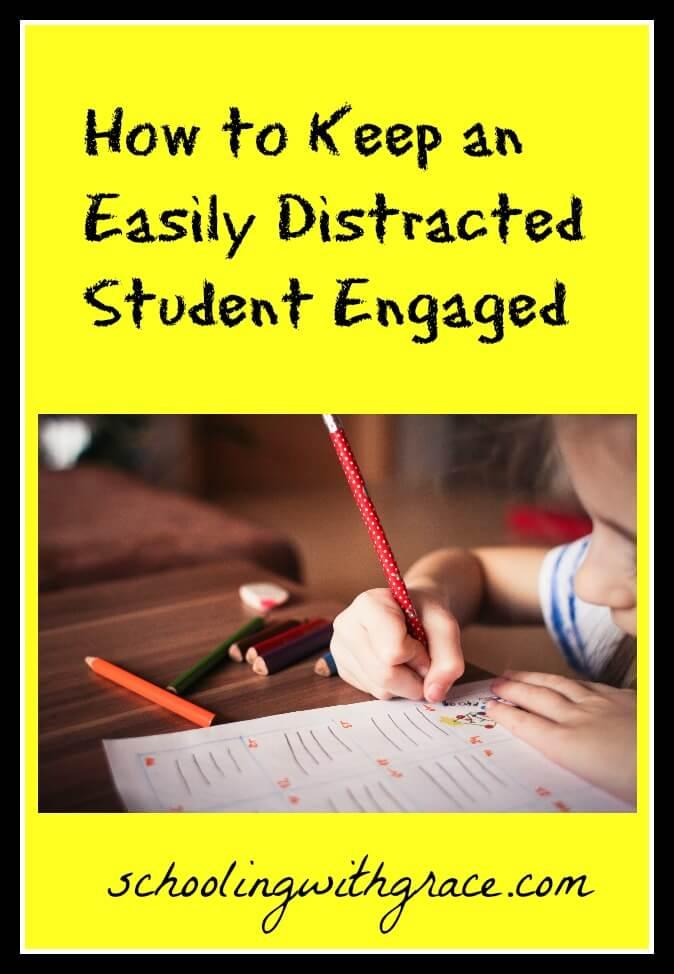 homeschooling distracted students