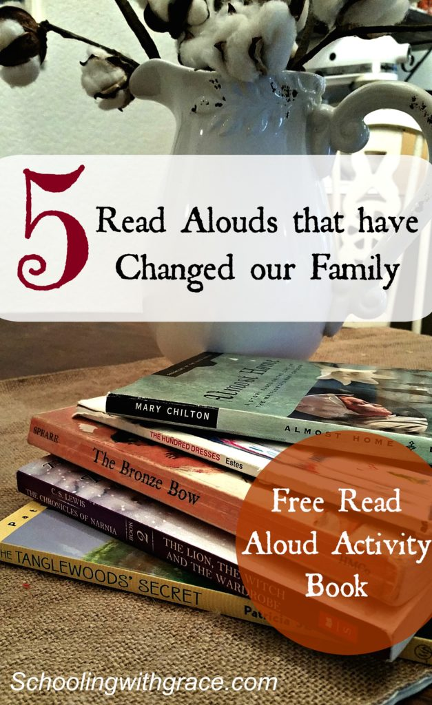 Read Alouds that changed our family