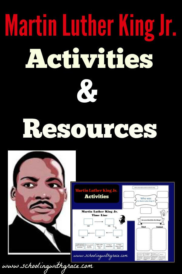 Martin Luther King Jr Activities and Resources