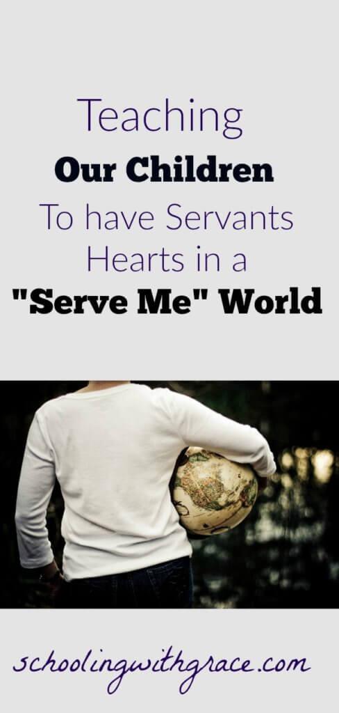 Teaching Children to Serve
