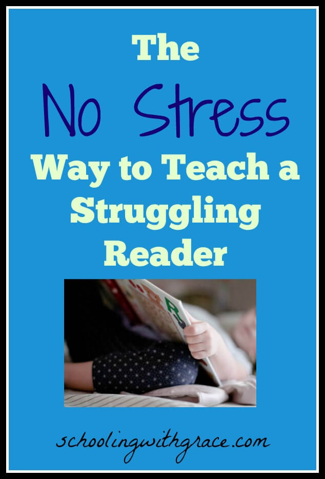 Learning to read, teaching a struggling reader