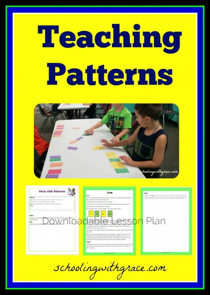 Teaching Patterns to Elementary students
