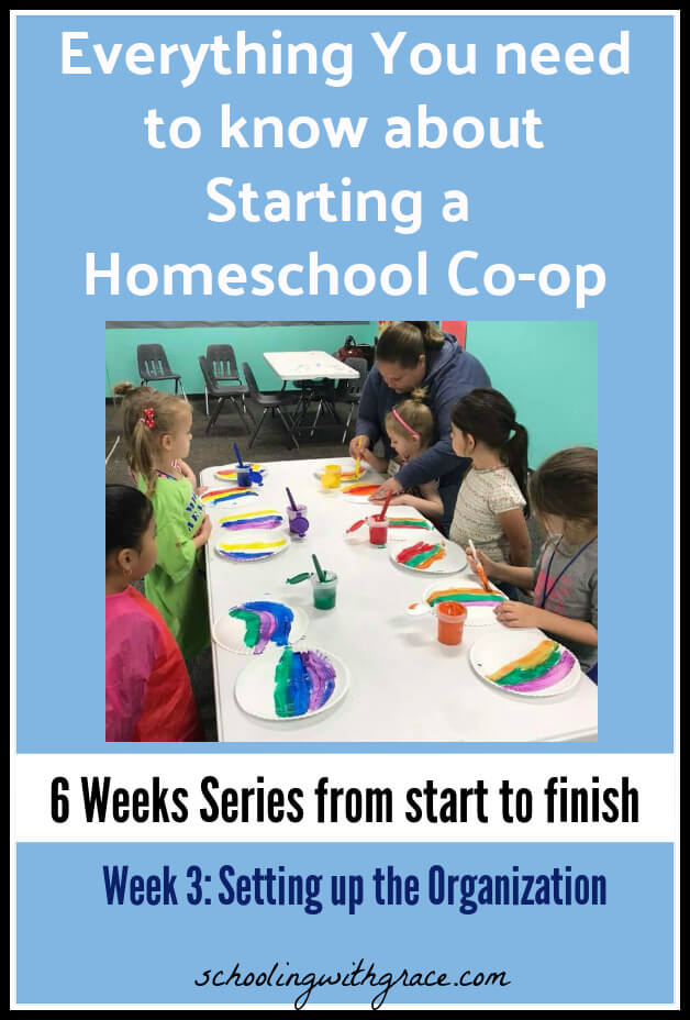 How do you set up a homeschool co-op?