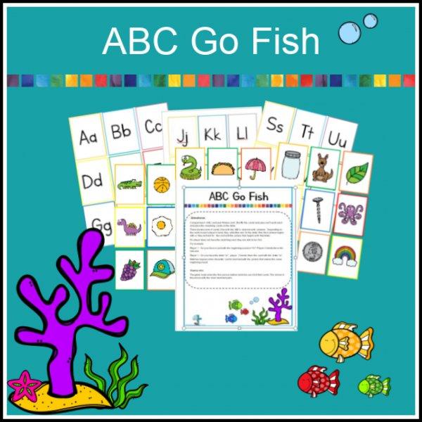 ABC Go Fish Game