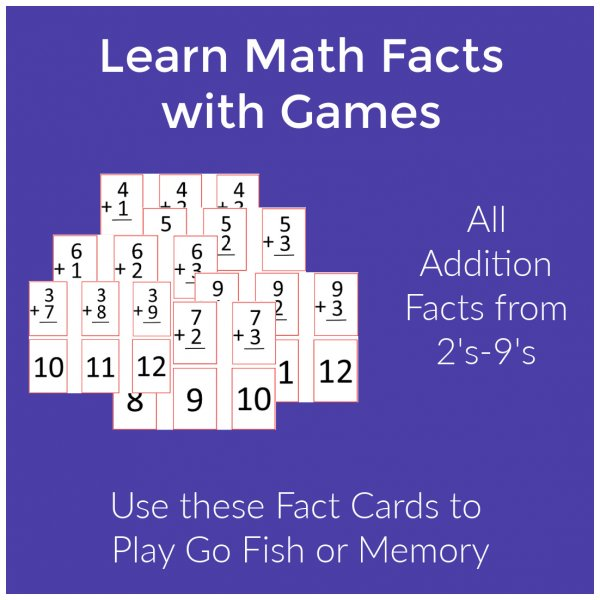 Addition Fact Game