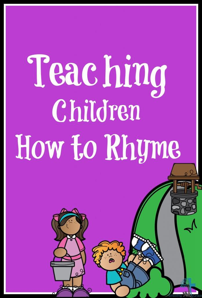 Teaching Children how to Rhyme