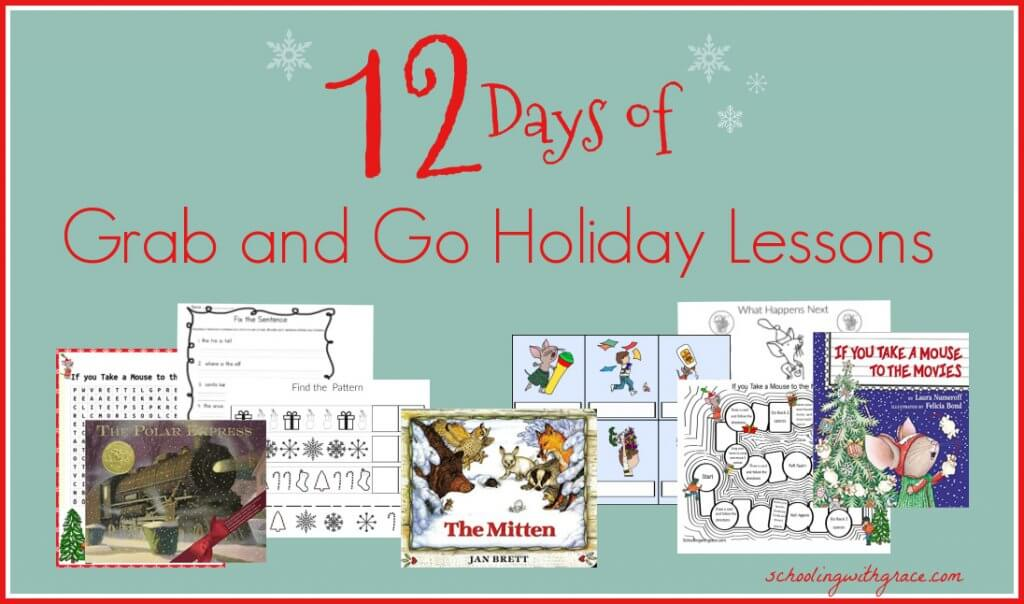 12 Days of Holiday Lessons