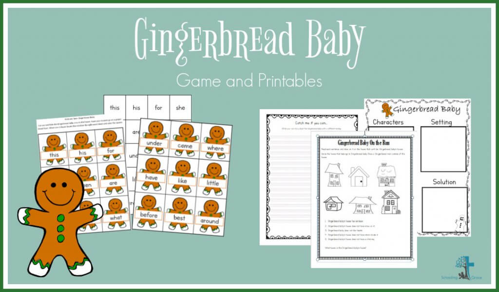 Gingerbread Baby Lessons
