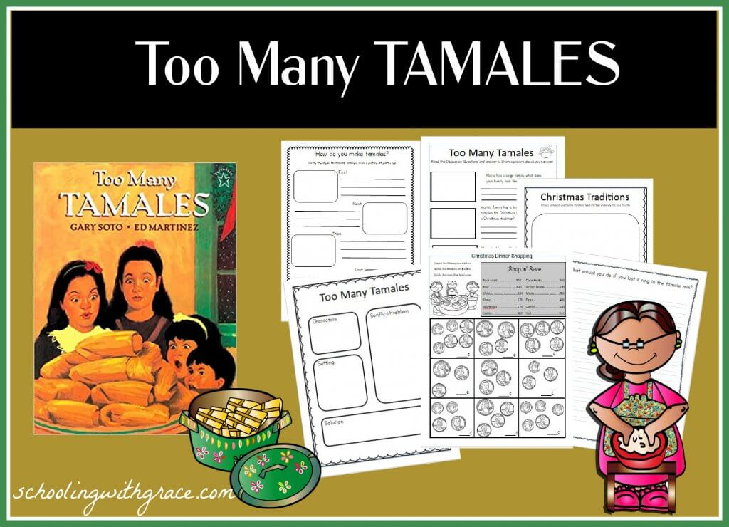 Too Many Tamales Printables