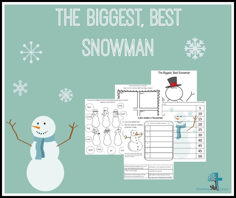 The biggest best snowman