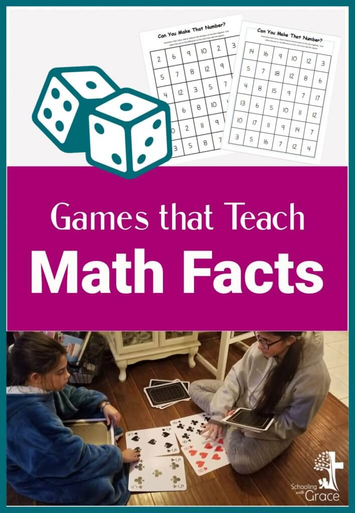Games that Teach Math Facts