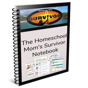 Homeschool Organization Notebook